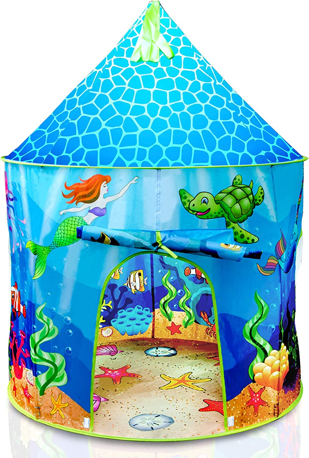 USA Toyz Under The Sea Large special price Kids Tent - Oklahoma City Mall Pop Mermaid Play Up