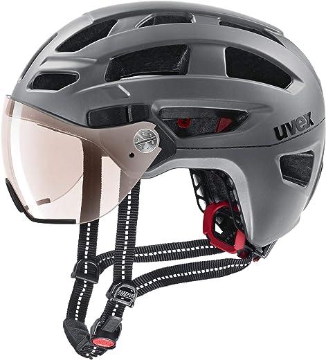 Uvex Unisex– Erwachsene, finale visor vario Fahrradhelm