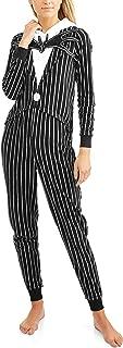 Tim Burton's Nightmare Before Christmas Jack Skellington One Piece Union Suit Pajama Costume