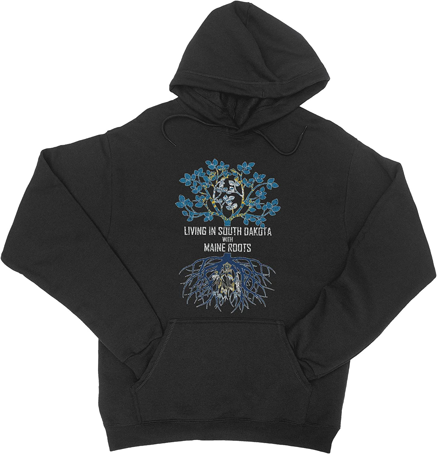 HARD EDGE shop 2021new shipping free DESIGN Unisex Living In Dakota with South Maine Roots