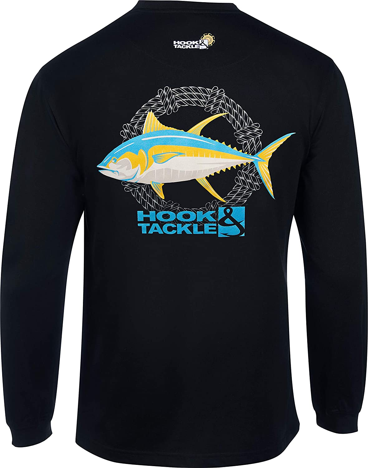 Hook Tackle Men's Our shop most popular Tuna Rope Long Shirt Sleeve Limited Special Price