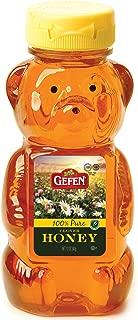 Gefen Honey Bear, 100% Pure Clover Honey, 12oz (2 Pack)
