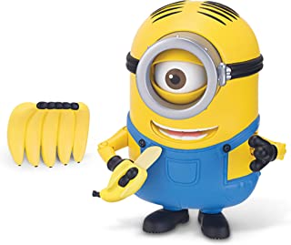 The Minions Deluxe Action Figure [Banana Munching Stuart]
