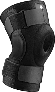 NEENCA Hinged Knee Brace, Adjustable Compression Knee Support Brace for Men & Women, Open Patella Knee Wrap for Knee Pain,...