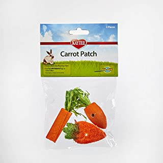 Kaytee 3 Count Chew Toy, Carrot Patch Variety