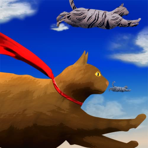 voando gatos bonitos: a busca gatinho para alcançar as estrelas - edição gratuita