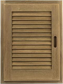 Whitecap 60725 Teak Louvered Door and Frame - 15