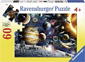 Ravensburger Outer Space 60 Piece Jigsaw Puzzle for Kids – Every Piece is Unique, Pieces Fit Together Perfectly
