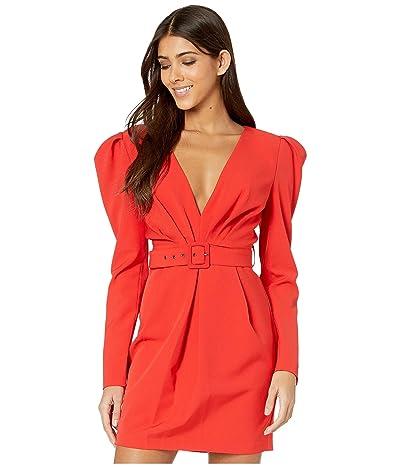 Bardot Letty Mini Dress (Fire Red) Women