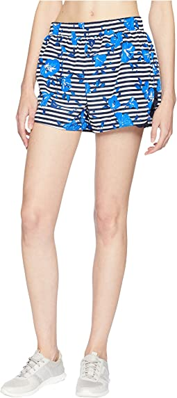 Hibiscus Stripe Shorts