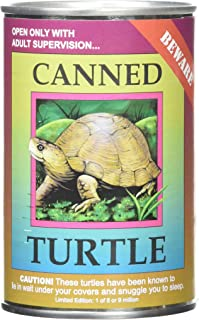 Canned Critters Stuffed Animal: Land Turtle 6