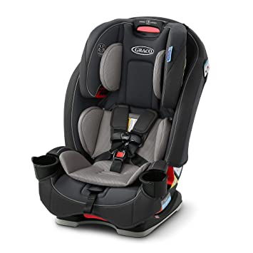 Graco Slimfit 3 in 1 Car Seat | Slim & Comfy Design Saves Space in Your Back Seat, Redmond, Amazon Exclusive: image