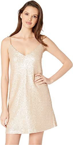 Sedgwick Sequin Slip Dress