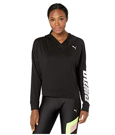 PUMA Modern Sport Cover-Up (Cotton Black) Women