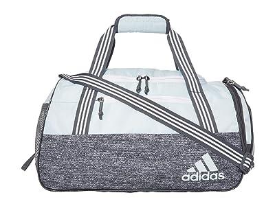 adidas Squad IV Duffel (Sky Tint Blue/Jersey Onix) Duffel Bags