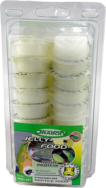 Jelly Food – 20 unidades de proteína blanca 320 g: Amazon.es ...