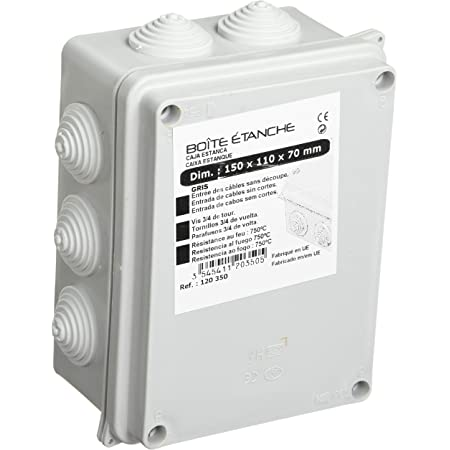 Kinstecks 60PCS Lever-Nut 2//3//5 Conducteur Connecteur /à Ecrou /à Levier Rapide Connecteur de Fil de C/âble Bornes de Connexion Automatique pour Fils Flexibles toronn/és Solides /électriques