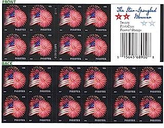 USPS Forever Stamps Star-Spangled Banner Booklet of 20 (Fireworks)