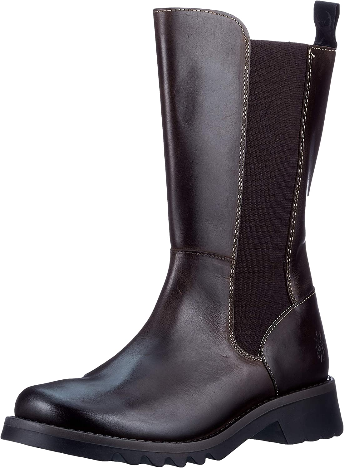FLY LONDON Women's RELM641FLY Chelsea Boot 6 DK.Brown Baltimore Mall Atlanta Mall