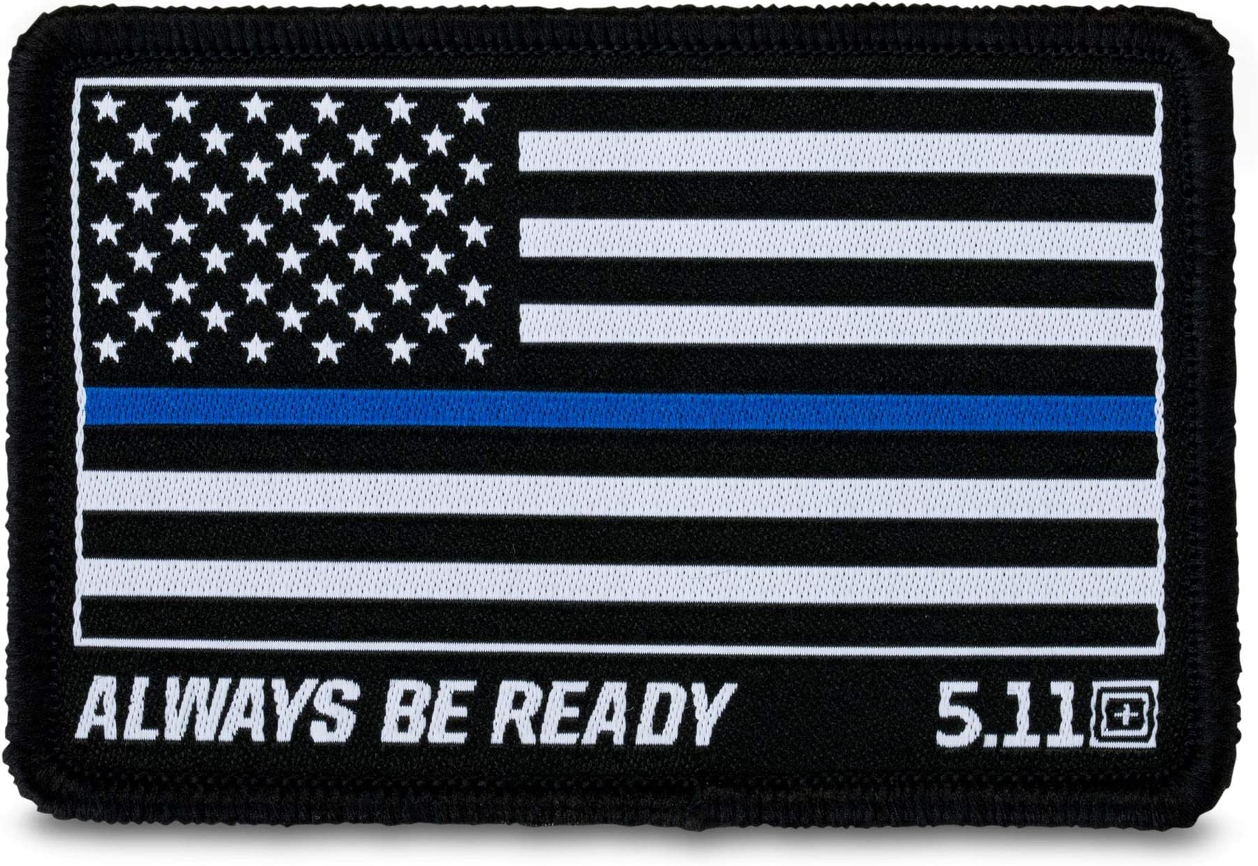 NEW 5.11 Tactical Blue Home Of The Brave Hook Back Morale Patch 81779