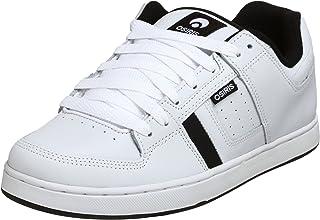 Osiris Men's Tron Sneaker,White/Black,5.5 M