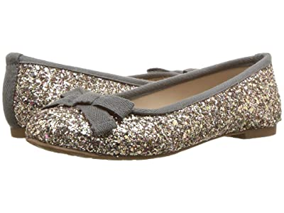 Elephantito Elephantito Flat (Toddler/Little Kid) (Glitter Gold) Girl