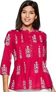 Amazon Brand - Myx Women's Floral Regular fit Top