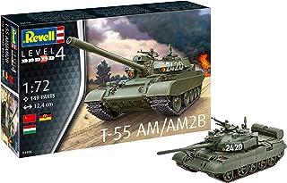 Revell Tanque de Batalla soviético T55 AM2B, Kit Modelo, Escala 1:72 (03306)
