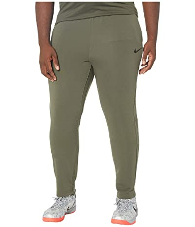 Nike Big Tall Dry Pants Regular Fleece (Cargo Khaki/Black) Men