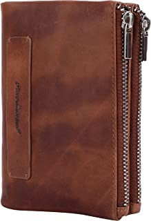 PICCO MASSIMO Leather Made RFID Protected Women's Wallet (TAN, 13X 9 cm)