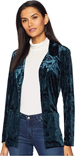 Long Sleeve Notch Collar Jacket