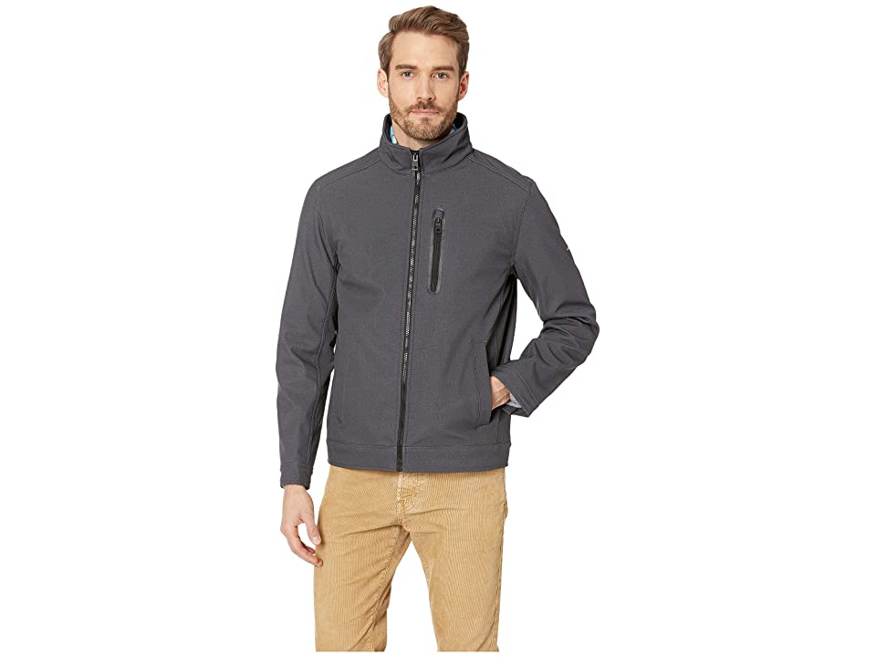 Nautica Softshell Jacket (Heather Grey) Men