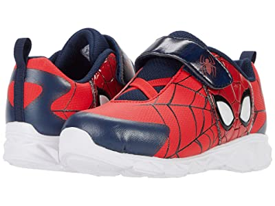 Favorite Characters Spiderman Lighted Athletic SPF382 (Toddler/Little Kid) (Red) Boy