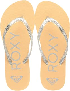 Roxy RG Viva Sparkle Sandal for Girls, Tongs. Fille