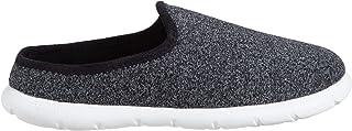 حذاء isotoner Zenz للرجال Transition Heather Knit Hoodback سهل الارتداء