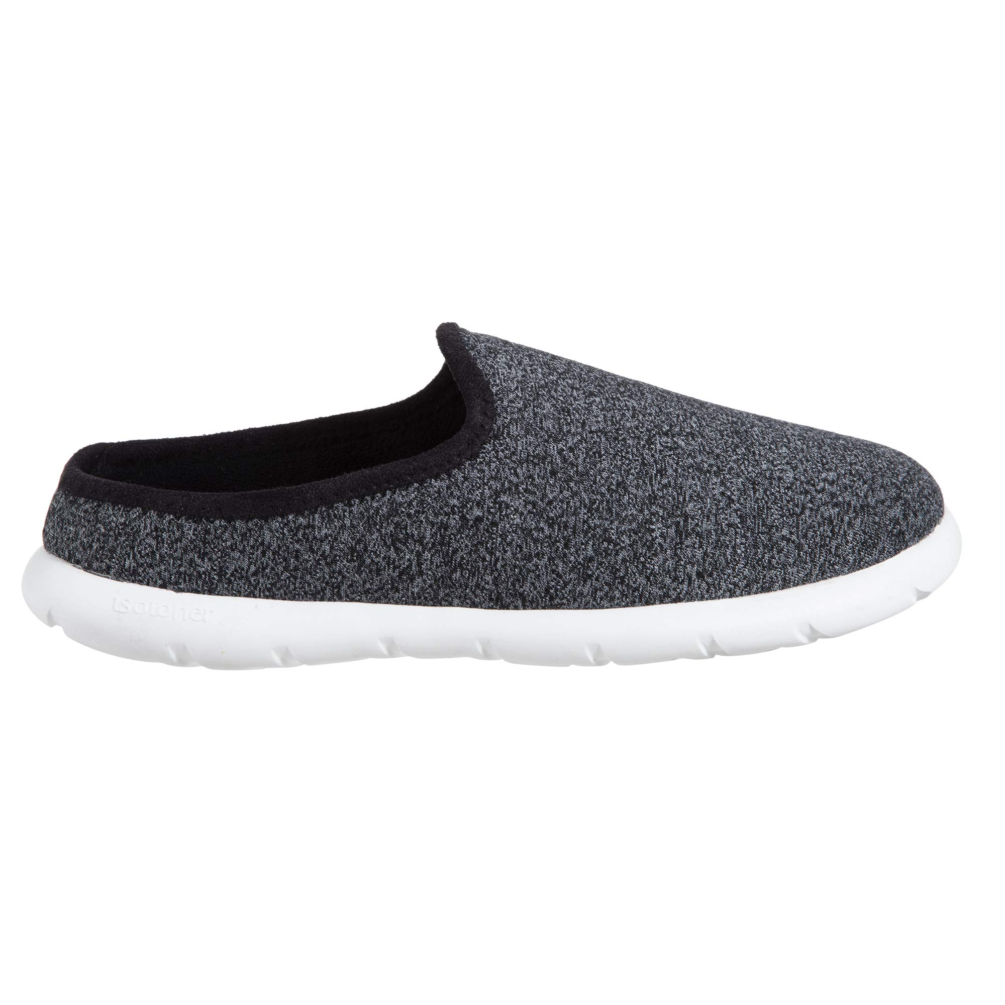 Zenz Men's Transition Heather Knit Hoodback Slipper, Slip-On Shoe