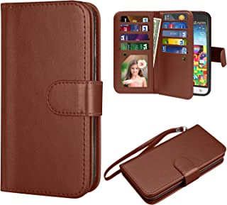 Tinysaturn Samsung Galaxy J3 Wallet Case, Galaxy J3 V Wallet Case PU Leather Wallet Magnetic Flip Kickstand Protective wit...