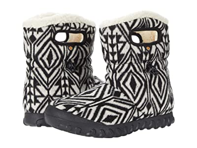 Bogs B-Moc Mid Geo (Dark Gray Multi) Women