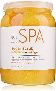 BCL SPA Sugar Scrub Mandarin + Mango,64 oz