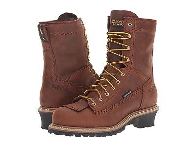 Carolina Spruce Waterproof Logger CA8824 CA8825 (Copper Crazy Horse) Men