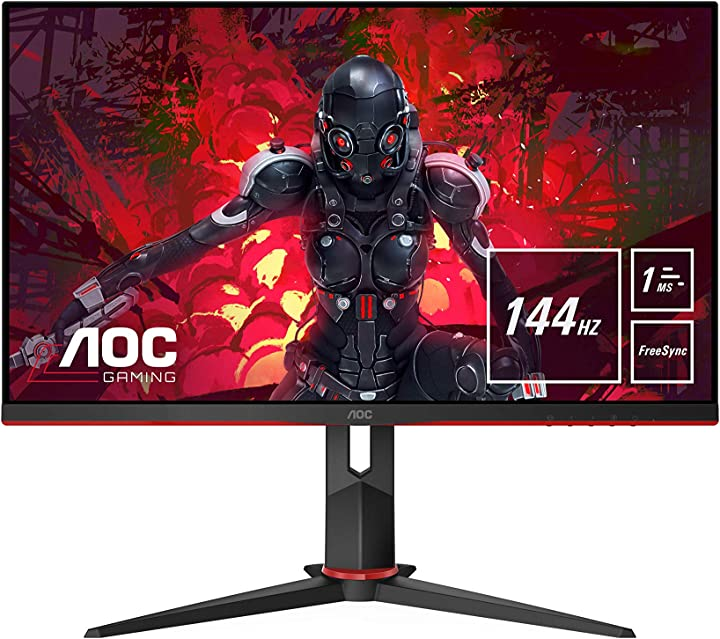 Monitor pc da gaming 27 pollici aoc 27g2u/bk