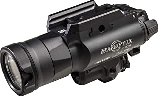 SureFire X400 Ultra Masterfire X400UH-A-GN Ultra High Output White LED with Green Laser WeaponLight for Masterfire Rapid Deploy Holster, Black