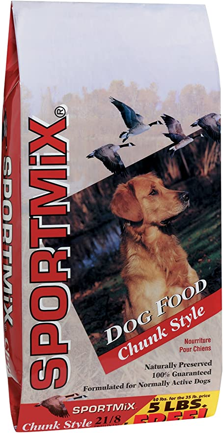 Amazon Com Sportmix Chunk Style Dry Dog Food 40 Lb Pet Supplies
