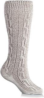 Gaudi-Leathers Herren Trachtensocken Kniebundstrümpfe mit Zopfmuster in Größe 41 bis 47 verschiedene Farben