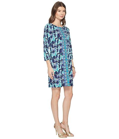 Lilly My Pulitzer Bright con Bay diseño Vestido de Alpaca Vestido Navy Bags Bq8wSg