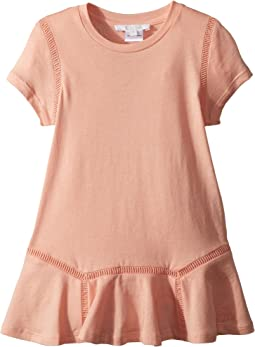 Jersey Essential Short Sleeve Dress (Toddler/Little Kids)