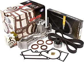 Evergreen TBK249MWP3 Fits 96-04 Nissan Infiniti SOHC Supercharged VG33E Timing Belt Kit GMB Water Pump