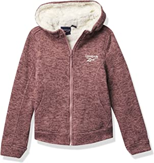 Reebok GIRLS Climb Jacket With Sherpa Linin