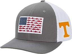 Tennessee Volunteers PFG Mesh™ Fish Flag Ball Cap