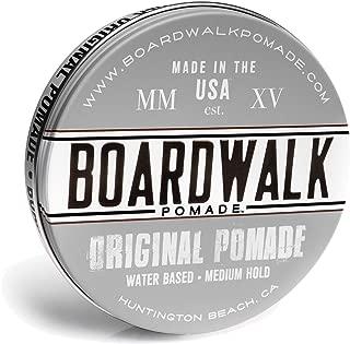 Boardwalk Pomade Original Pomade 4.5oz, Aloe Vera Pomade, Vegan, Paraben Free.